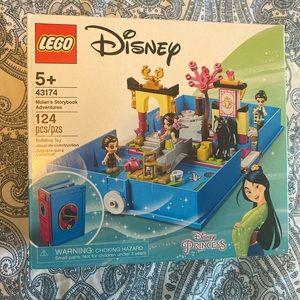 New Disney's Mulans storybook lego